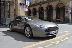 Aston Martin V8 Vantage (Monde-Auto Passion Photos) Tags: auto automobile astonmartin aston martin v8 vantage coupé france paris supercar sportive