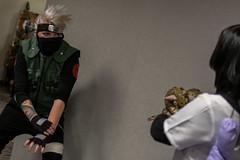 _DSC9693 (In Costume Media) Tags: orochimaru cosplay costume newcon newcon5 pdx naruto shippuden jiraiya kakashi sensei ninija cosplays cosplayers evil snake fight dark green eyes
