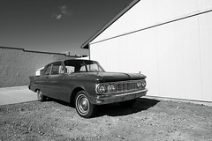 1961 Mercury Comet (Curtis Gregory Perry) Tags: ashfork arizona 1961 mercury comet black white bw old classic vintage car auto automobile monochrome nikon d800e worldcars automóvil coche carro vehículo مركبة veículo fahrzeug automobil