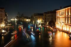 Venetian lightpainting (Txulalai) Tags: venezia venice venecia italia travel nocturna urbana lightpainting grancanal agua arquitectura monumento sony sonyilce6000 sonya6000 sonyalpha6000