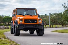 Mercedes G63 - ADV08 Street Function Standard (ADV1WHEELS) Tags: matteorange mercedes benz g63 g wagon forged luxury car suv rims adv1 wheels offroad