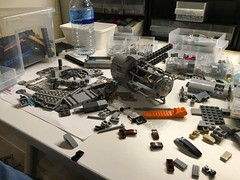 Finally started with a new MOC (Chef_NL) Tags: star wars starwars moc lego outrider shadows empire