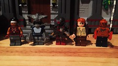 New Recruits (LordAllo) Tags: lego dc suicide squad new 52 afterthought king shark deadshot james gordon jr el diablo