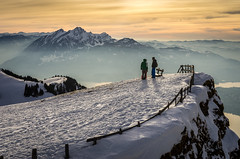 Rigi and Pilatus (Mopple Labalaine) Tags: rigi pilatus mount peak alps swiss switzerland snow sunset chat group