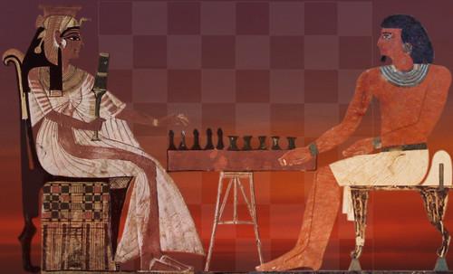 "Senet - Lujoso sistema de objetos lúdicos obsequio del dios Toht a la faraona Nefertari • <a style=""font-size:0.8em;"" href=""http://www.flickr.com/photos/30735181@N00/32521951555/"" target=""_blank"">View on Flickr</a>"
