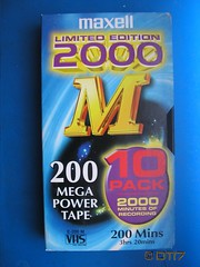 Maxell - Blank Tape (daleteague17) Tags: blank vhs tapes blankvhstapes pal palvhs videotape blankvideotape maxell