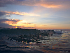 Last Wave (OH_Snapper) Tags: olympus olympuspen pen penepl6 epl6 redingtonbeach florida fl pinellascounty beach gulfofmexico gulf wave waves sunset seascape landscape outdoor evening sky color calm serene winter reflection clouds orange