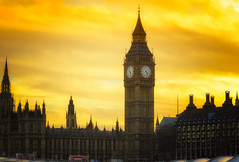 London Sunset Glow (Joyce Dela Paz) Tags: londonsunset londonist timeoutlondon bigben westminster