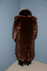 Many Coats (Buses,Trains and Fetish) Tags: coat fur warm winter torture hijab burka chador niqab girl hot sweat slave