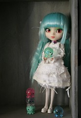 Prunella and Takochu (Lisa_Anne*) Tags: toy doll pullip prunella takochu