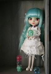 Prunella and Takochu (Lisa_Anne*) Tags: toy doll pullip prunella takochu