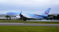 Thomson Airways Boeing 757-2G5 G-OOBP (Mark 1991) Tags: glasgow thomson boeing 757 gla glasgowairport 757200 thomsonairways goobp