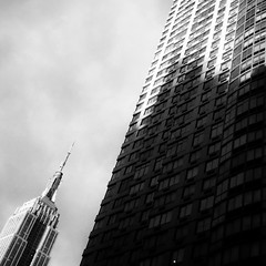 (shooting all the buildings in Manhattan) Tags: nyc newyorkcity ny newyork architecture us manhattan esb april empirestatebuilding 6thavenue iphone 2015 shrevelambandharmon