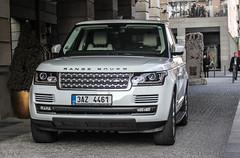 Czech Rep. (Prague) - Land Rover Range Rover (PrincepsLS) Tags: berlin germany republic czech prague plate rover license land range spotting a