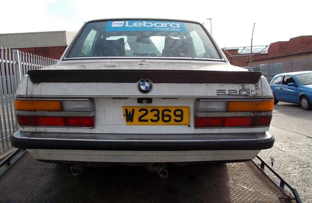 bmw 1983 528 3453cc tiw2369