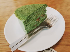 Matcha Chestnut mille crepe (iSam's) Tags: cake cheesecake viet homemade crepe chestnut pancake matcha sai nam gon mille 2015 isam