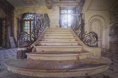 The Long Way Up (klickertrigger) Tags: castle steps staircase stefandietze decaylostplaceabandonedurbanexplorationurbexueverfallve decaylostplaceabandonedurbanexplorationurbexueverfallverlassenduststaub
