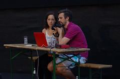 """Anna und Stefan legen die Playlist von Florian auf • <a style=""""font-size:0.8em;"""" href=""""http://www.flickr.com/photos/39658218@N03/19609945649/"""" target=""""_blank"""">View on Flickr</a>"""