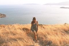 Girl (merveunlu93) Tags: sea portrait people selfportrait me nature girl vintage walking moments view wind outdoor hipster soul hippie feelings apieceofme naturelovers freespirit freesoul peopleinnature catchthemoment keetitwild