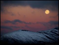 Superluna en Bariloche