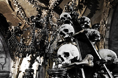 Sedlec Ossuary bone church (James Ng Photography) Tags: church skulls europe republic czech prague sony chapel praga ossuary bones bone alpha dslr sedlec 2015 a700 jimsnapper