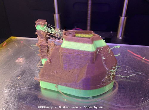 Dual extrusion WD 3D printed #3DBenchy v01