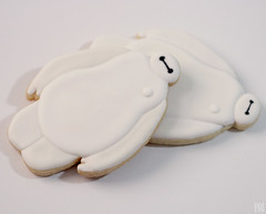 Big Hero 6 - BAYMAX COOKIES! (watchmedostuff) Tags: food cookies kids baking treats teenagers disney animation icing decorated sugarcookies royalicing bighero6 baymax