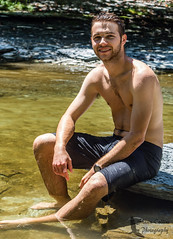 Photo Shoot w/ Grant (Shawn Collins Photography) Tags: portrait hairy male men water beard outdoors photography model eyes photoshoot modeling masculine guys stare streams erie thin tone malemodel scruff physique hairychest eriecounty portraitphotography outdoorshoot