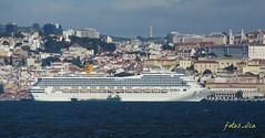Lisboa (fotos_ilca) Tags: portugal ships transportes 2015 cruzeiros costamagica riotejo navios passenges fotosilca aguasana cruzeirosemlisboa cruisesinlisbon