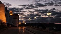 (mazzottaalessandra) Tags: ostuni night sera luci light lights old canon italy beautiful nuvole cloud sunset