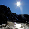 Alpes-de-Haute-Provence, France (pom.angers) Tags: canoneos400ddigital 2012 february 04 alpesdehauteprovence paca provencealpescôtedazur france europeanunion gorgesduverdon aiguines fullsun roadpicture flare sunrays