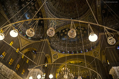 Mohammed Ali Mosque ceiling (Jodi Newell) Tags: boys cairo canon ceiling egypt jodinewell jodisjourneys jodisjourneysphotosgmailcom mosqueofmuhammadali nubian