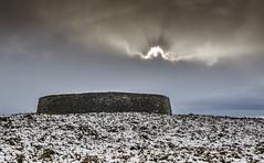 Grianan of Aileach (paddyrathbone) Tags: ringfort rath griananofaileach inishowen donegal ireland burt stones sky snow d5100