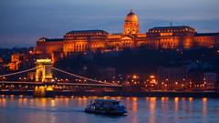 Budapest at dusk (Jorge Franganillo) Tags: budapest hungary magyarorszg danubio danube duna arquitectura architecture ro river ferry dusk twilight