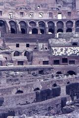 1982 04 03 Lazio - Roma - Colosseo_033 (william.ferrari1956) Tags: foriimperiali lazio roma