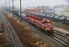 Rush to 31st (BravoDelta1999) Tags: wisconsinandsouthern wsor railroad canadianpacific cp rail milwaukeeroad milw cmsubdivision railway watco emd sd40m2 wamx 4192 grain train t004x illinois lawndale chicago