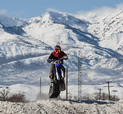 Snow Bike Racer - explored (maytag97) Tags: maytag97 morgan utah outdoor trail motorized fun recreational race competitive tread engine compete bike season recreation ski motor motorcycle winter speed competition track snow sport fast wasatch range nikon d750 inexplore
