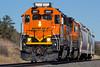 BNSF 2697 Colorado Springs 19 Jan 17 (AK Ween) Tags: bnsf bnsf2697 emd gp393 coloradosprings colorado jointline pikespeaklocal train railroad geep