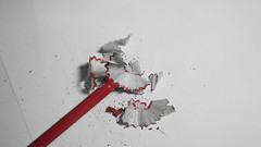 It´s A-Peeling To Me - For  Macro Mondays (annesjoberg) Tags: it´sapeelingtome macromondays happymacromonday hmm macro makro pencil red
