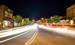 Holiday Traffic (cwhitted) Tags: pittsboro chathamcounty downtown canon eos canoneos7dmarkii canonefs1855mmisstm longexposure christmas