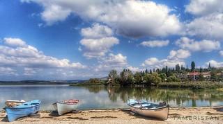 Lake Golyazi,  Bursa,  Turkiye.