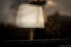 Christmas time on a train (© Jenco van Zalk) Tags: minimalist fogged train lamp christmas season netherlands window old decoration fineart abandon disconsolate desolate mournful