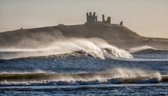 Lively Dunstanburgh (anicoll41) Tags: dunstanburgh waves windy lively sea northumberland northeastengland