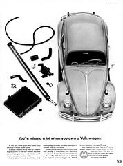 ... VW parts! (x-ray delta one) Tags: jamesvaughanphotography populuxe retro advertising americana nostalgia suburbia suburban magazine popularscience popularmechanics atomic housewife car conceptcar