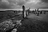 Calanais, Isle of Lewis 6 (andy_AHG) Tags: callanish calanais isle lewis western isles outer hebrides scotland great britain uk stone circles standing stones prehistory bronze age history historical remains outdoors rural countryside british northern blackandwhite monochrome outdoor ruins architecture skyline sea sky sunset cloud