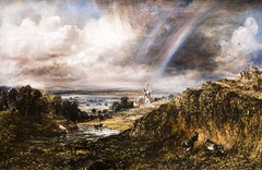 Hampstead Heath with a Rainbow - John Constable (Bill in DC) Tags: uk london art museums tate tatebritain constable johnconstable hampsteadheath 2016