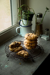 Chocolate chip cookies (Patrizia Miceli - Via delle rose) Tags: chocolate cookies food dolci photography sempre piu buoni casa vacanzescuola francia