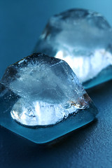 Ice Cubes (djshanu) Tags: ice cubes icecubes cold summer blue closeup depth depthoffield dof 100mm 100mmf28l canondslr canon
