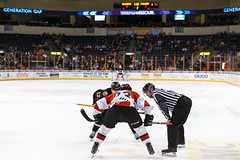 "Missouri Mavericks vs. Cincinnati Cyclones, January 25, 2017, Silverstein Eye Centers Arena, Independence, Missouri.  Photo: John Howe / Howe Creative Photography • <a style=""font-size:0.8em;"" href=""http://www.flickr.com/photos/134016632@N02/32558225965/"" target=""_blank"">View on Flickr</a>"