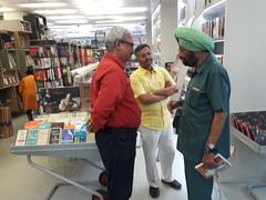Book MumBhai Returns released by then CBI Director Joginder Singh in Delhi April 2016_201620160429_171626